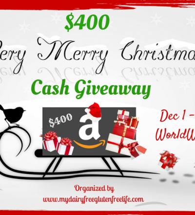 $400 Christmas Cash Giveaway!
