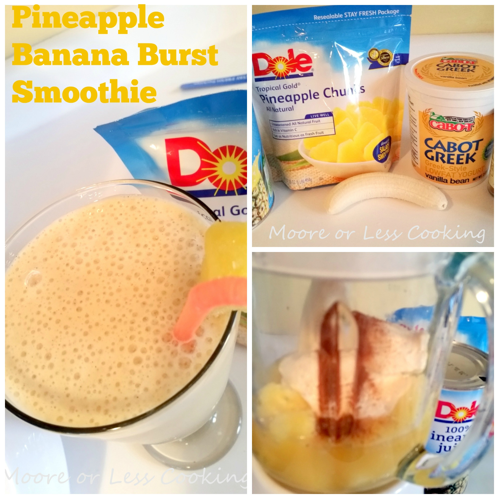 Pineapple Banana Burst Smoothie