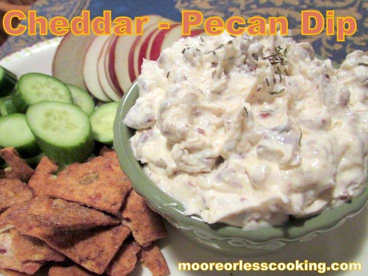 Cheddar – Pecan Dip