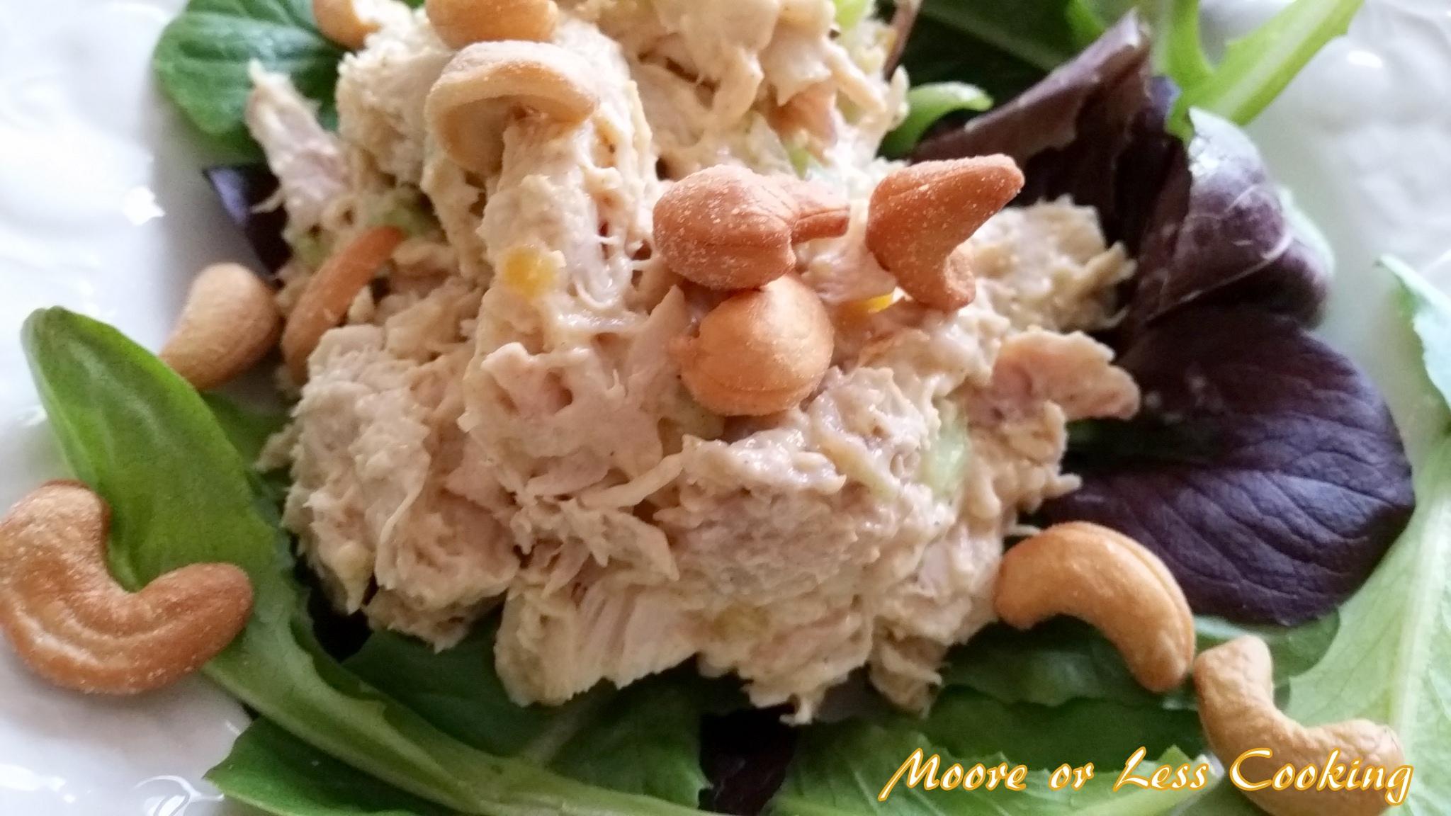 Chicken Cashew Salad