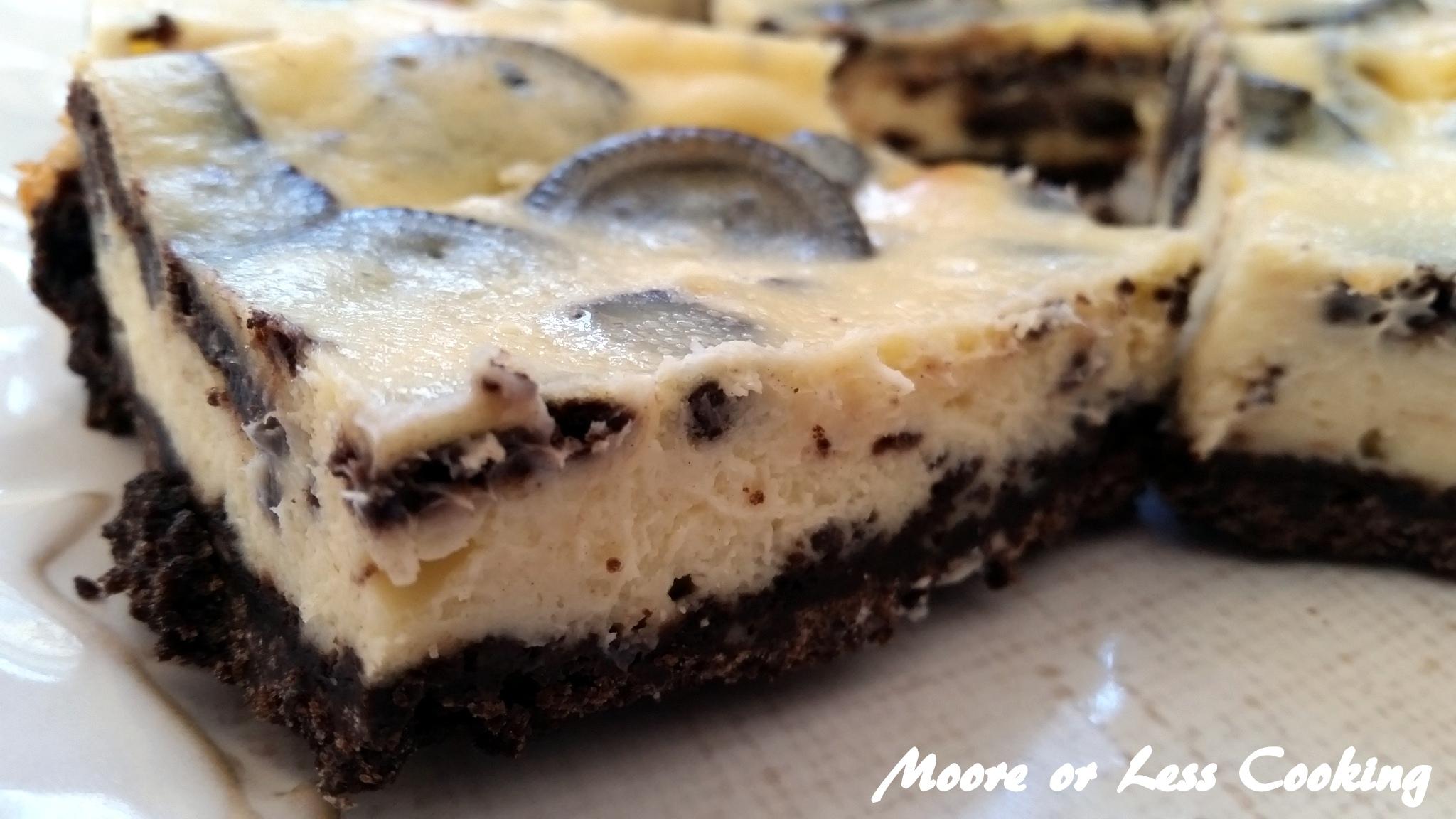Cookies N Cream Cheesecake Bars