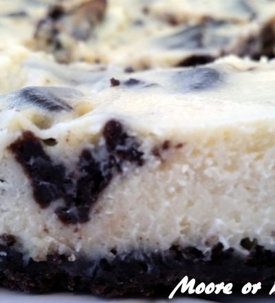 Bud's Best Cookies 'N Cream Cheesecake Bars