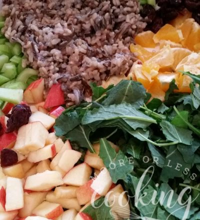 Winter Kale and Wild Rice Salad #SundaySupper