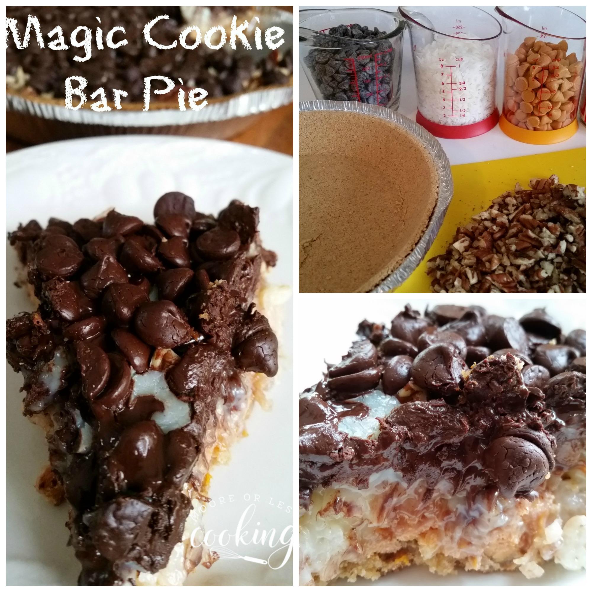 Magic Cookie Bar Pie
