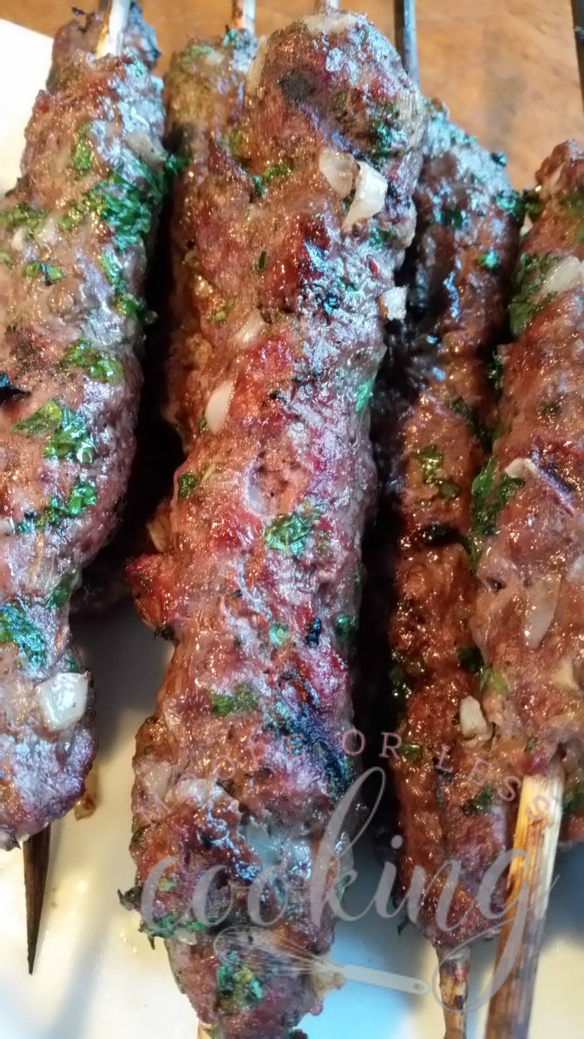 Grilled Kafta Kebabs