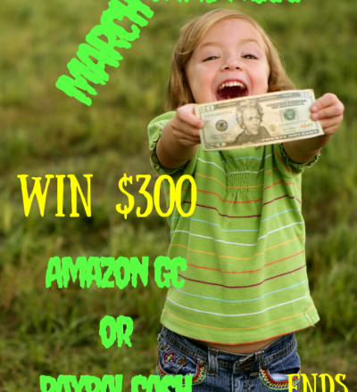 March Madness $300 Giveaway!