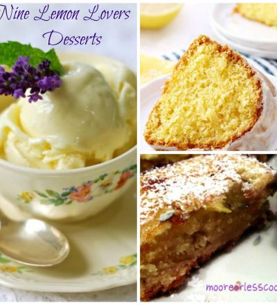 9 Desserts Just for Lemon Lovers