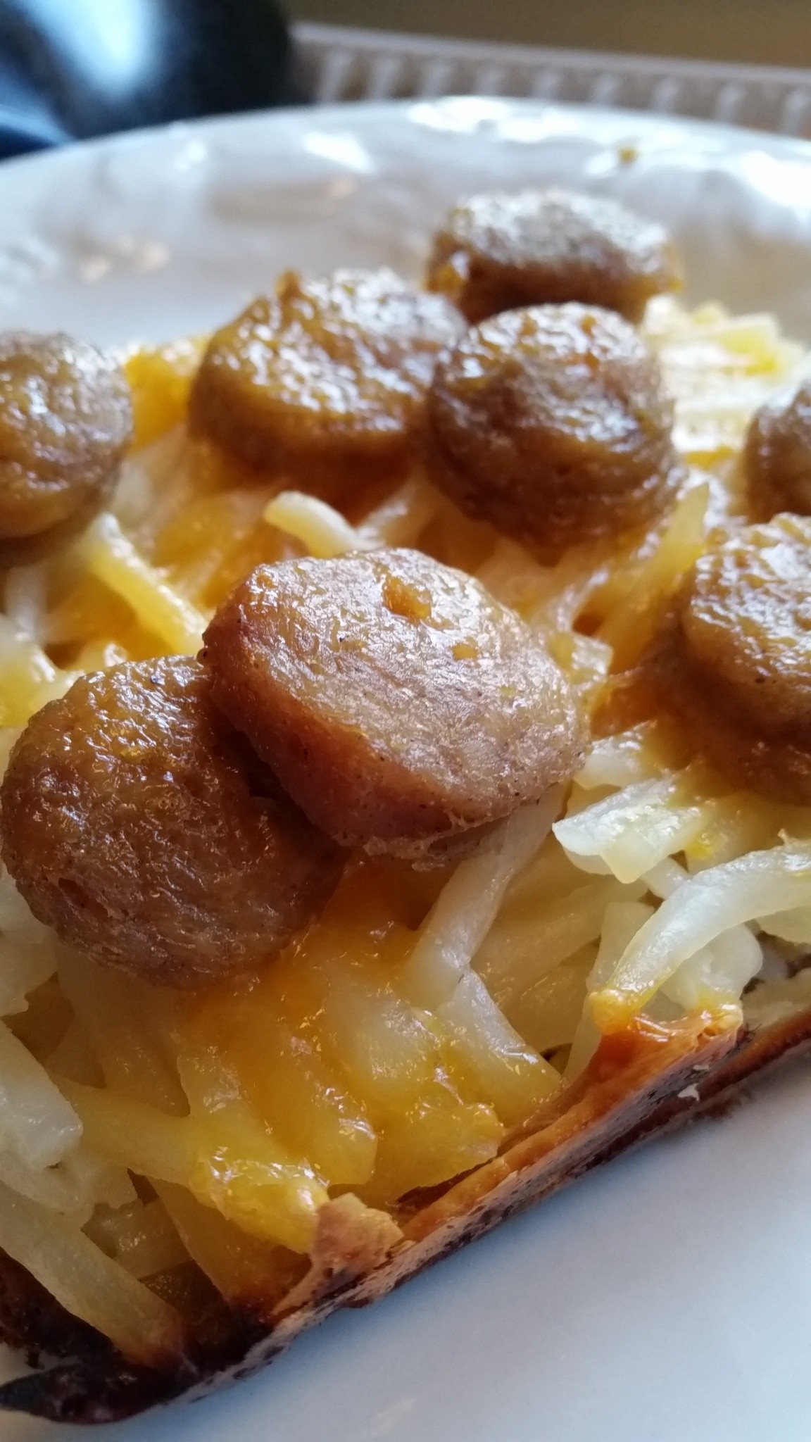 Hashbrown Sausage Egg Casserole