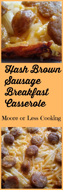 Hash Brown Sausage Breakfast Casserole