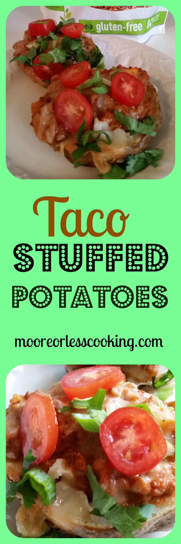 Taco Stuffed Potatoes