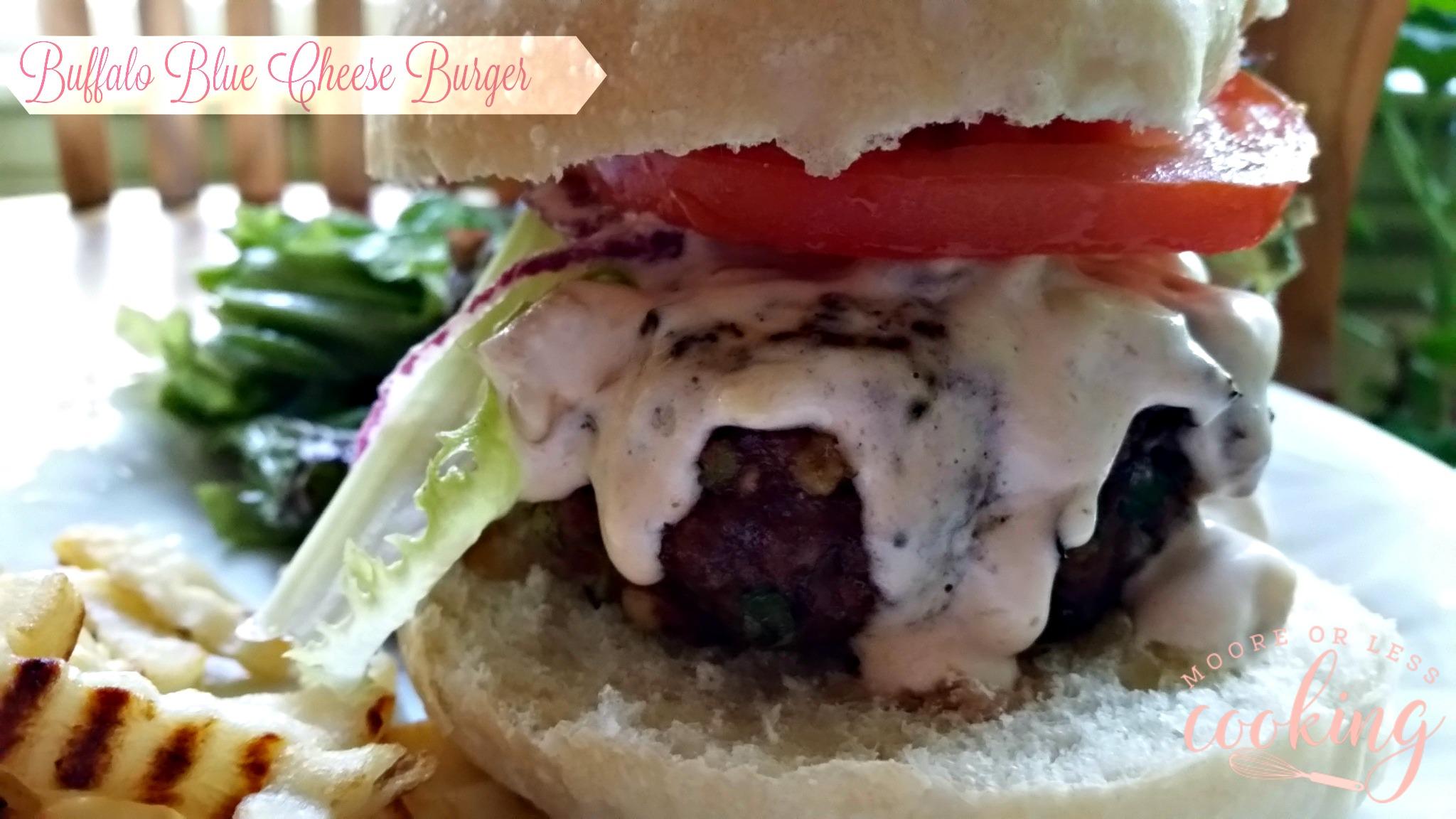 Buffalo Blue Cheese Burger
