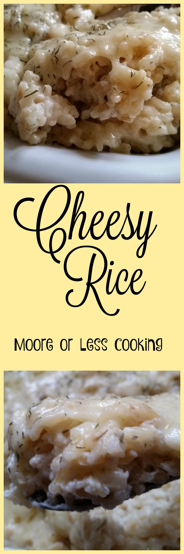 cheesy rice