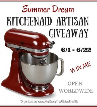 Summer Dream 5 Quart KitchenAid Artisan Giveaway!