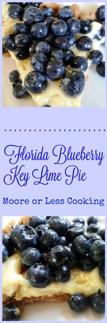 Florida Blueberry Key Lime Pie
