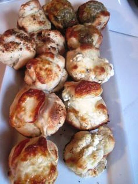 Easy Pizza Puffs