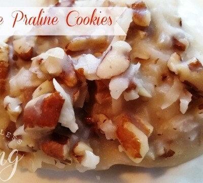 No-Bake Praline Cookies