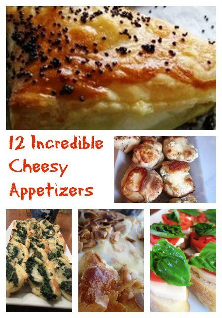 12 Incredibly Cheesy Appetizers You'll Need for Your Next Party!
