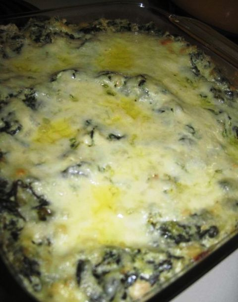 Artichoke Spinach Cream Cheese Dip