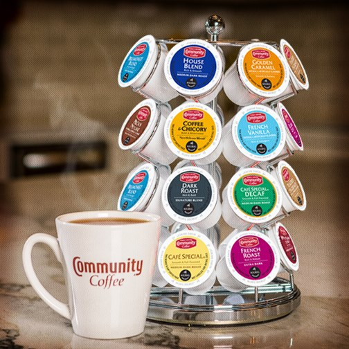 Community Coffee KCups Giveaway Moore or Less Cooking