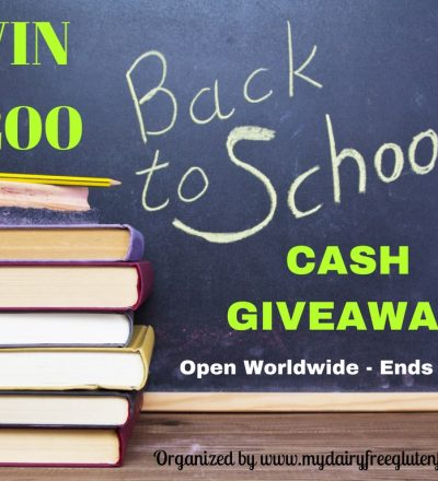 Back To School Giveaway for $200