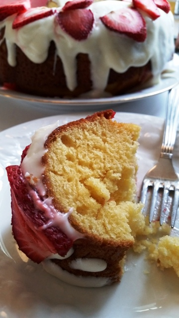 Strawberry Shortcake Poke Cake A fun bundt poke cake using fresh strawberries puts a new spin on strawberry shortcake!