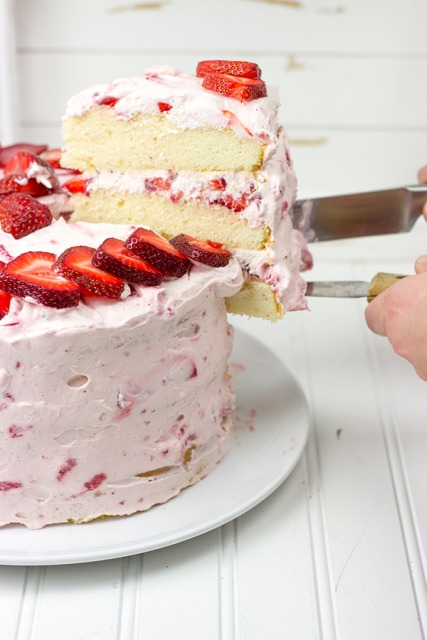 Fresh Strawberry Cake, Spiced