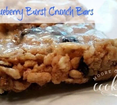 Blueberry Burst Crunch Bars
