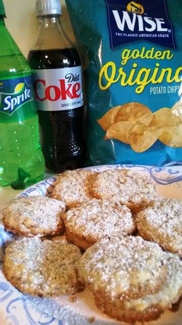 Diet Coke, Sprite, Potato Chip Cookies
