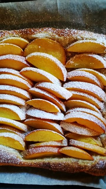 Easy Peach Tart