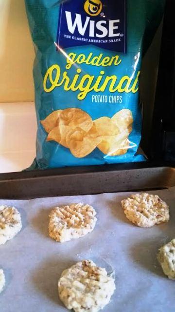 Making Potato Chip Cookies