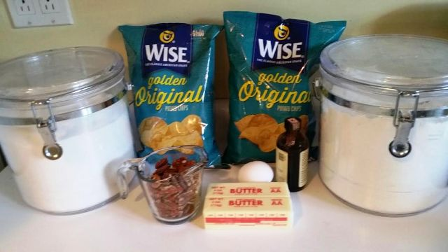 Potato Chip Cookies ingredients