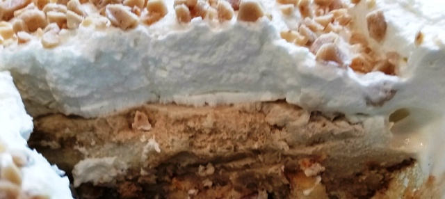 COFFEE VANILLA ICE CREAM PIE #SUNDAYSUPPER