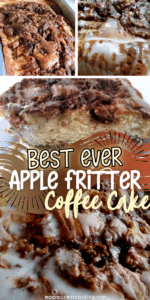 Best Ever Apple Fritter Coffee Cake