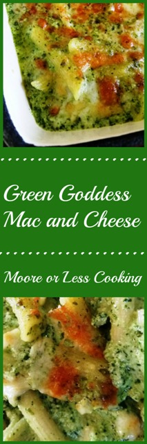 Green Goddess Mac and Cheese
