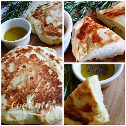 Easy Cheddar Cheese Flatbread