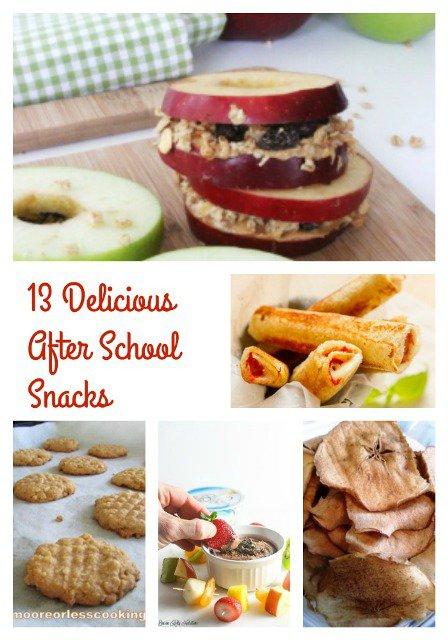 12 Delicious After School Snacks