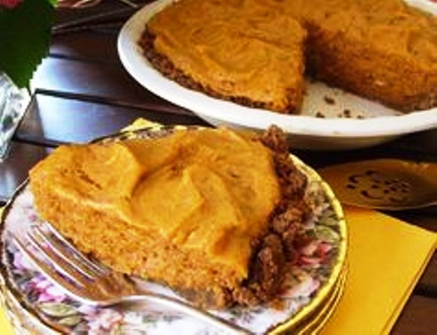 Pumpkin Chiffon Pie Recipe The chiffon filling is very smooth and silky with a great flavor. People who are not a big fan of the traditional pumpkin pie will like this version. Get recipe here. What's Cooking America