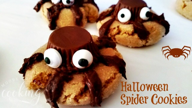 Halloween Spider Cookies #SundaySupper
