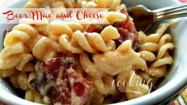 Beer Mac and Cheese for #SundaySupper