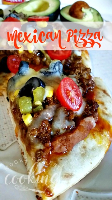 Mexican Pizza #SundaySupper
