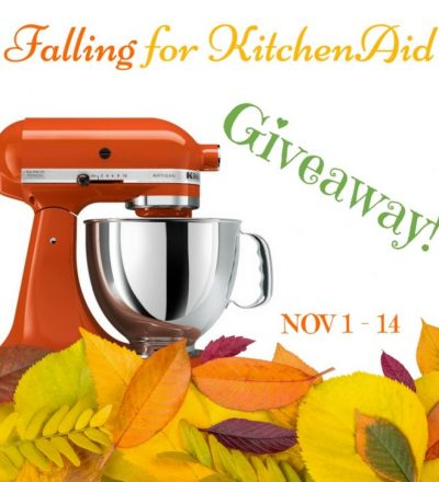 Falling for KitchenAid Giveaway!