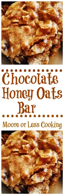 Chocolate Honey Oats Bar