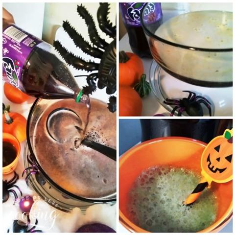 Halloween Purple Pumpkin Eater Punch