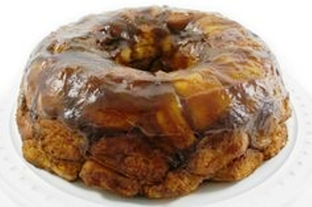 Pumpkin Caramel Monkey Bread Made Skinny This decadent sweet monkey bread really highlights the great flavors of fall. Get recipe here. Skinny Kitchen