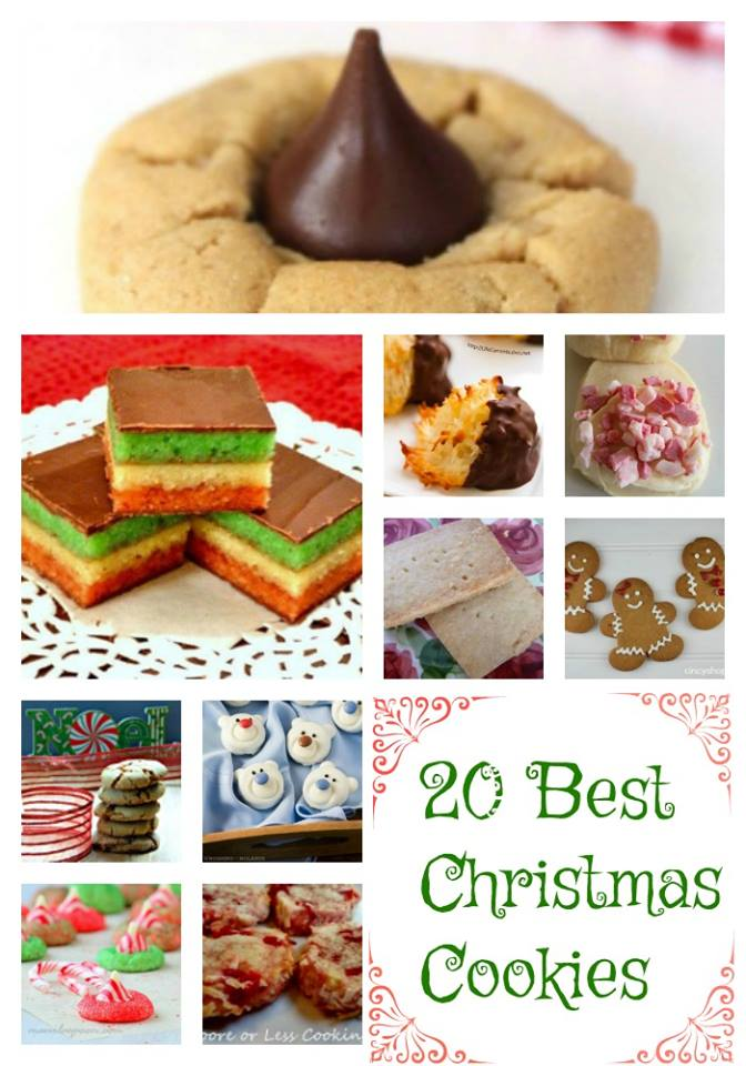 20 Best Christmas Cookies Moore Or Less Cooking