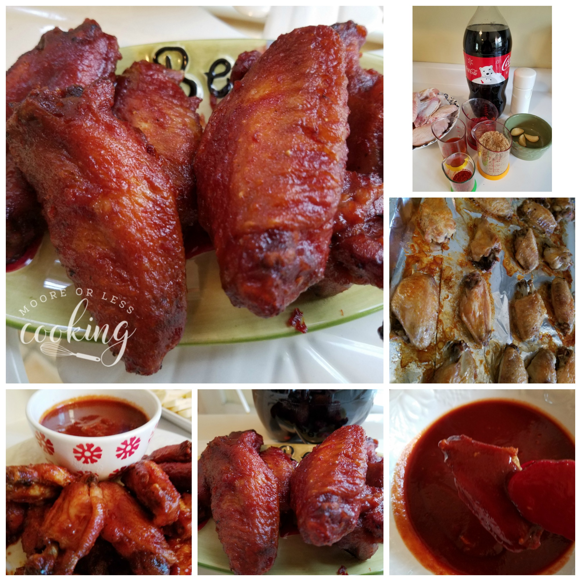 Coca Cola Wings step by step