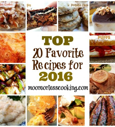 Top 20 Favorite Recipes for 2016