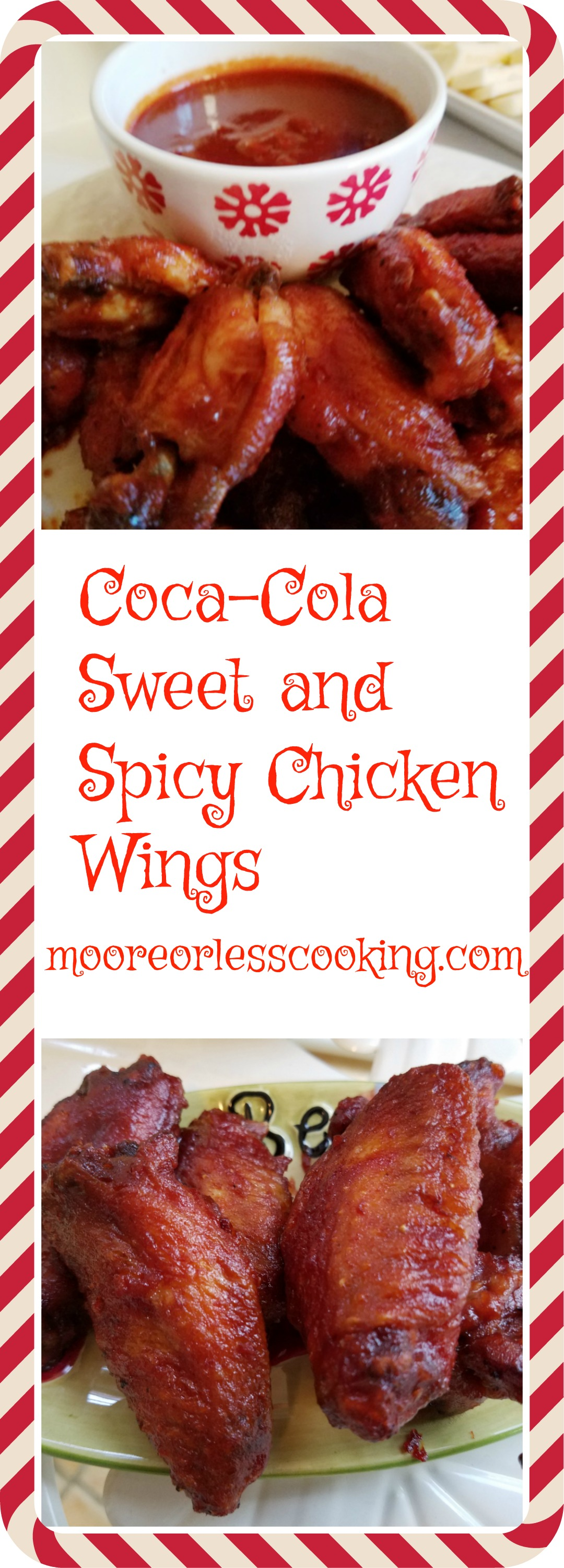 Coca-Cola Sweet and Spicy Chicken Wings