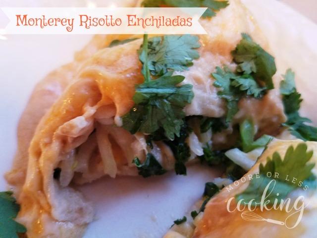 Monterey Risotto Enchiladas #SundaySupper #Nourish2Flourish