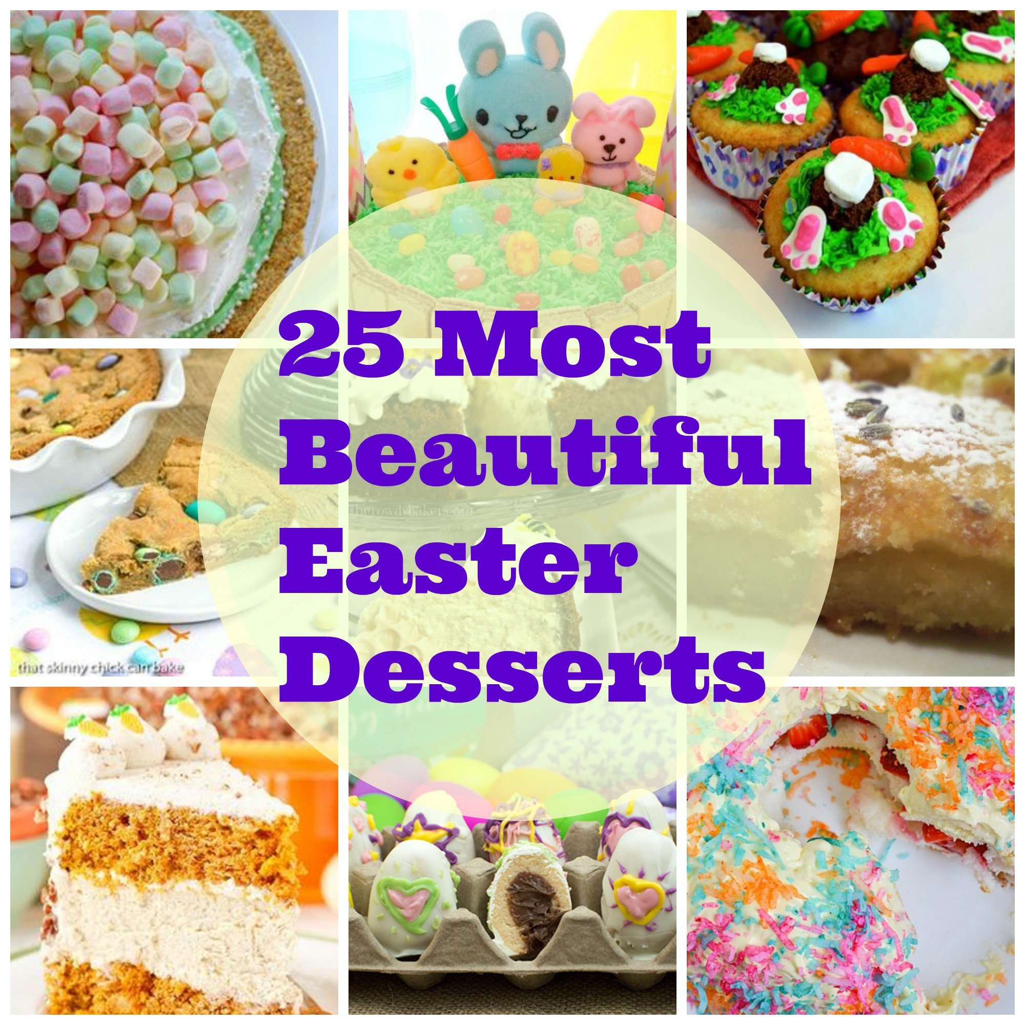 25 Most Beautiful Easter Desserts Moore Or Less Cooking